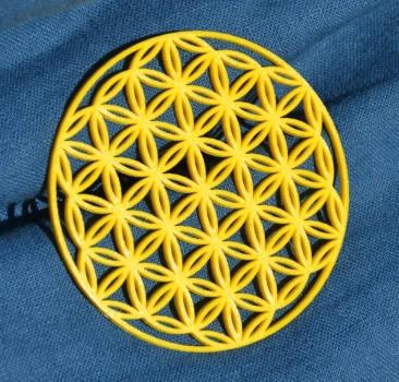 Blume des Lebens. Ein Unikat aus PLA (10cm)